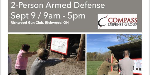 2 person armed defense