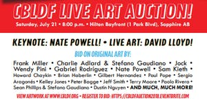 CBLDF Comic-Con Art Auction, Presented by IDW & San...