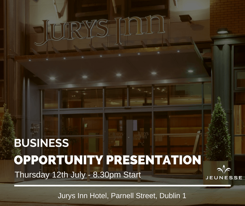 Dublin Business Opportunity Presentation