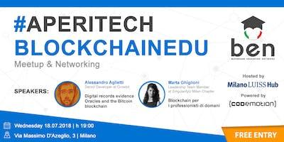 MILANO Meetup #AperiTech di Blockchain Education Network Italia