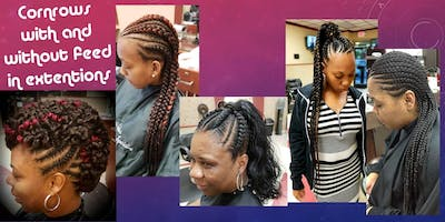 Viva Le Beaux Presents! Basic Braiding and Feed in Braids