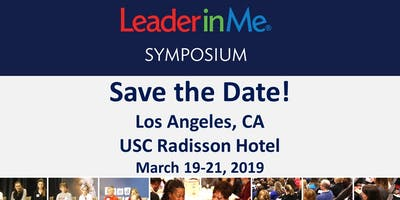 SAVE ME A SEAT! Los Angeles Education Symposium