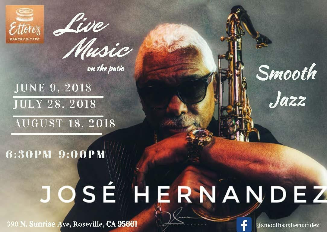 Smooth Jazz on the Patio with Saxophonist, Jo