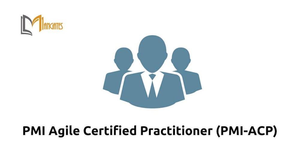 Pmi Agile Certified Practitioner Pmi Acp Training In Perth On Dec