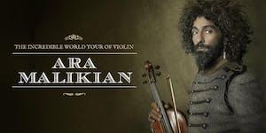 Ara Malikian en Guadalajara. The Incredible World Tour...