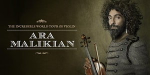Ara Malikian en Guadalajara. The Incredible World Tour...