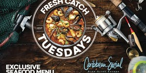 Fresh Catch Tuesdays: Gourmet Seafood Platter $19.95