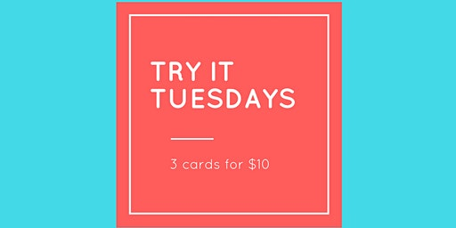 Try it Tuesdays