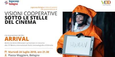 Visioni Cooperative Sotto le Stelle del Cinema in Piazza Maggiore a Bologna -