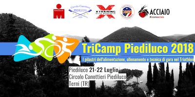TriCamp Piediluco 2018 - I pilastri dell' alimentazione, allenamento e tecnica di gara nel Triathlon