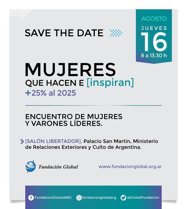 """""""Mujeres que hacen e Inspiran +25% al 2025"""""""
