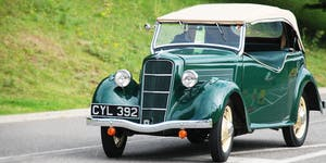 Old Ford Rally 2019 - Vehicle Entry - Supported by...