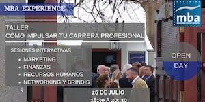 OPEN DAY: TALLER COMO IMPULSAR TU CARRERA PROFESIONAL