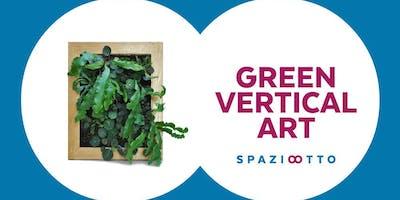 GREEN VERTICAL ART