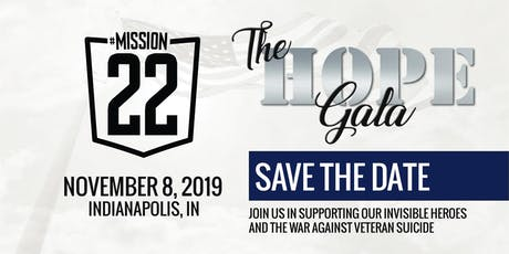 Mission 22 - The Hope Gala tickets
