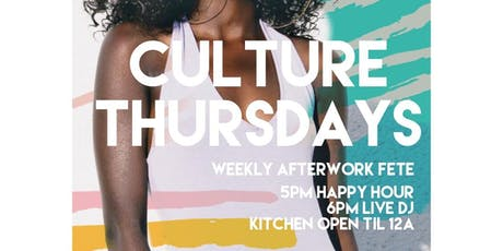 Culture Thursdays BK tickets