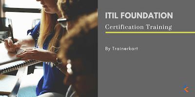ITIL Foundation- 2 days Classroom Training in Stockton, CA