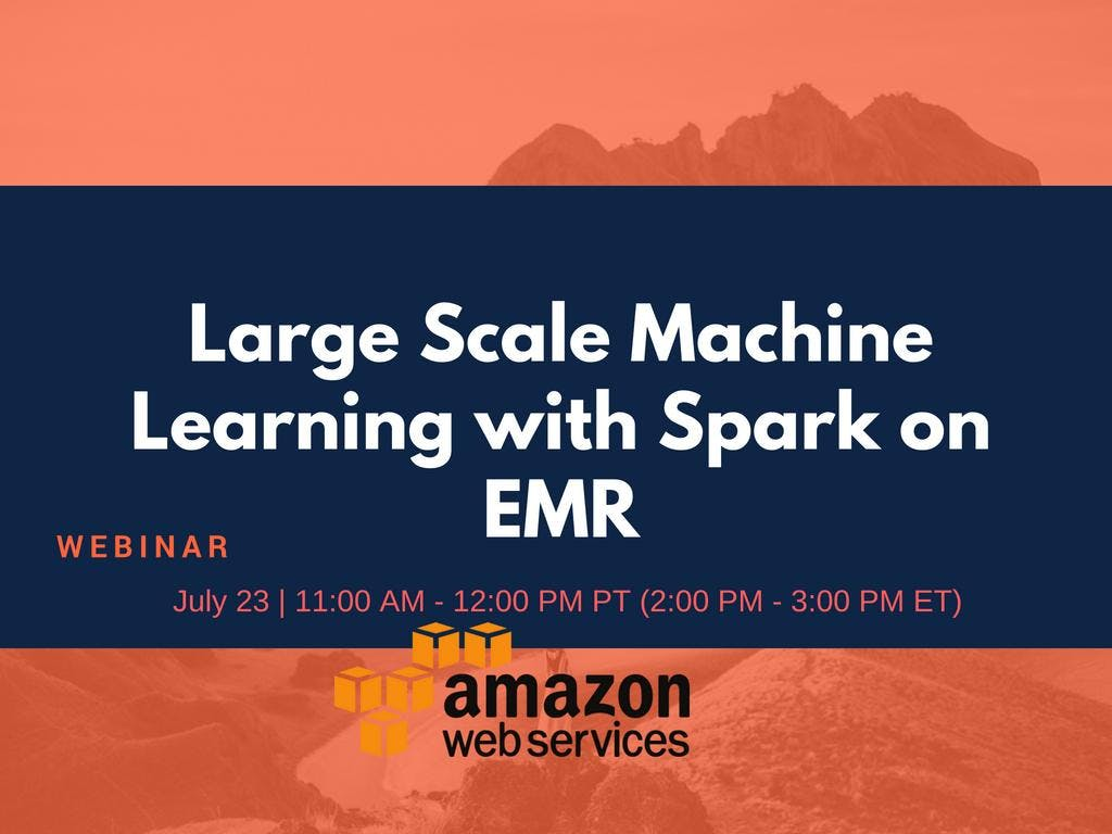 Large Scale Machine Learning with Spark on EM