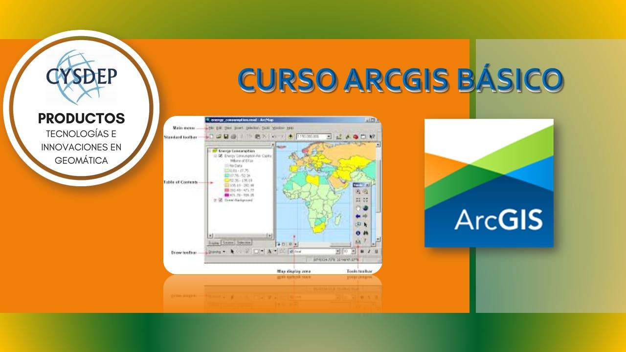 CURSO ARCGIS BÁSICO (2 dias)