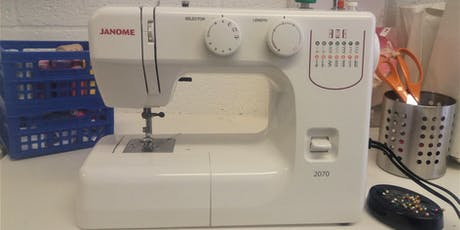 How to use a Sewing Machine plus intro to the Over Locker tickets