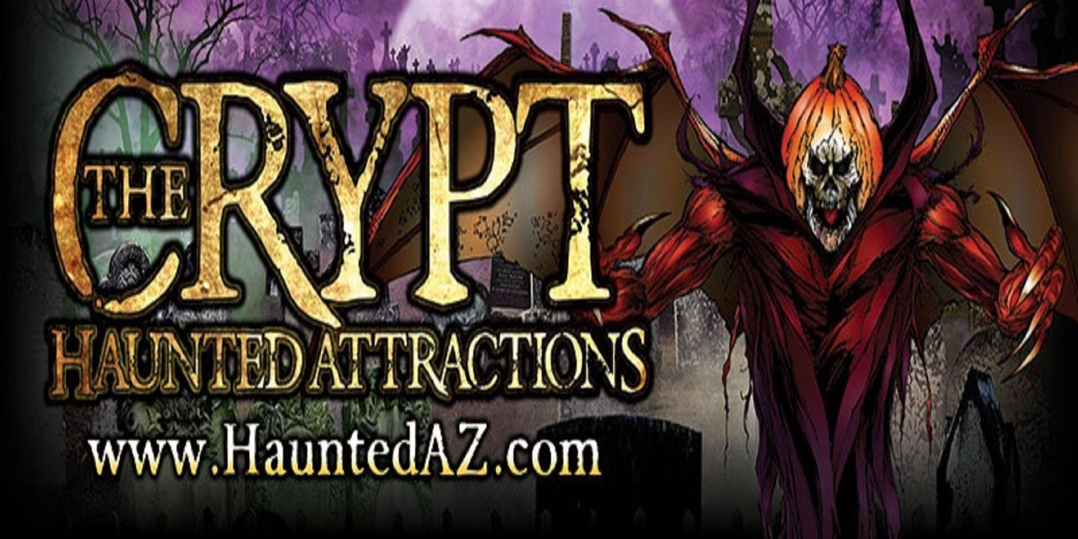 2018 Crypt Haunted Attractions-The Crypt, The Asylum, & Chaos Maze