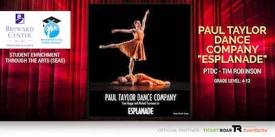 "Paul Taylor Dance ""Esplanade"" Lecture/Demo Format"