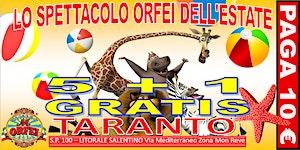 CIRCO M.ORFEI A TARANTO, sconti per lo spettacolo...