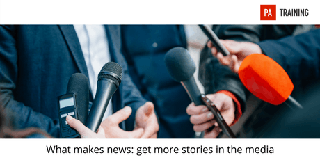 What makes news: get more stories in the media tickets