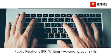 Public Relations (PR) Writing: Advancing your Skills tickets
