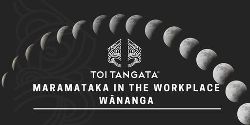 Maramataka in the Workplace Wānanga