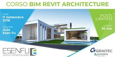 CORSO BIM REVIT ARCHITECTURE