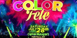 COLOR FESTIVAL - Tortola 2018