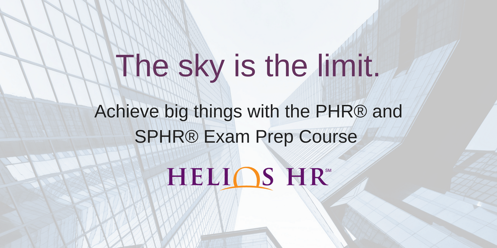 Phr Shrm Exam Prep Course By Helios Hr Registration Tue Sep 4