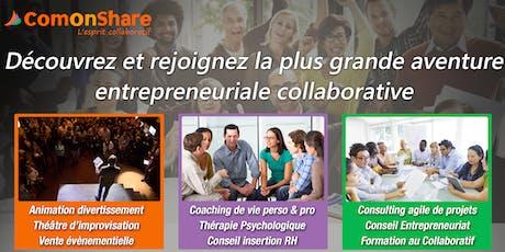 Collaborative Session : Apprendre, Co-créer et Partager avec Comonshare billets