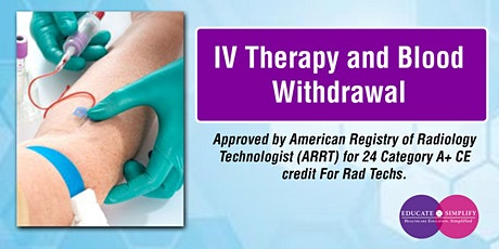 IV Therapy and Blood Withdrawal tickets