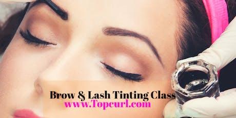 Eyebrow & Eyelash Tinting Class tickets