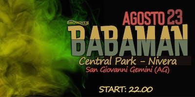 •Babaman• Live at Central Park - San Giovanni Gemini (AG)