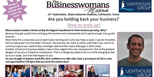 How to scale up your business and Networking Event