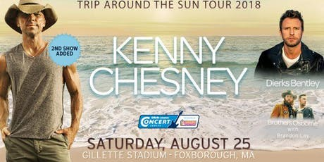 Buses to Country Fest 2018 - Kenny Chesney, Dierks Bentley & Brothers Osborne tickets