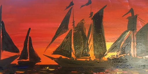 Painting by the Sea: Art of Sailing