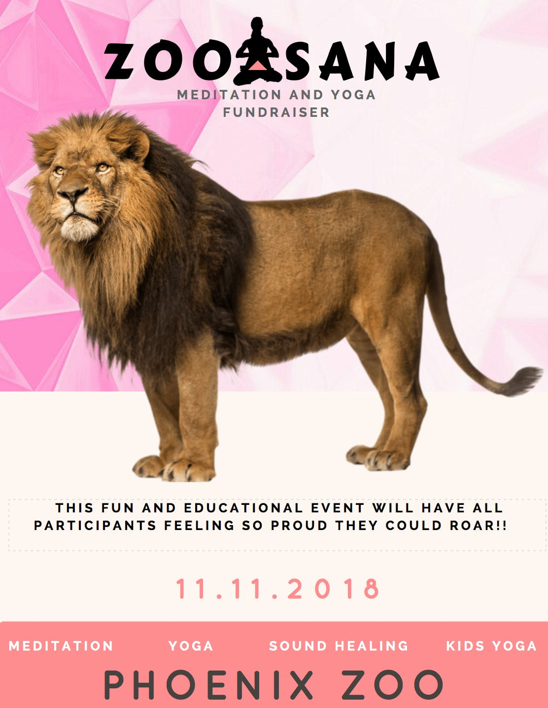ZOOASANA - Yoga & Meditation Fundraiser for C