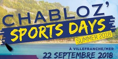Chabloz'Sports Days - Villefranche-Sur-Mer 2018
