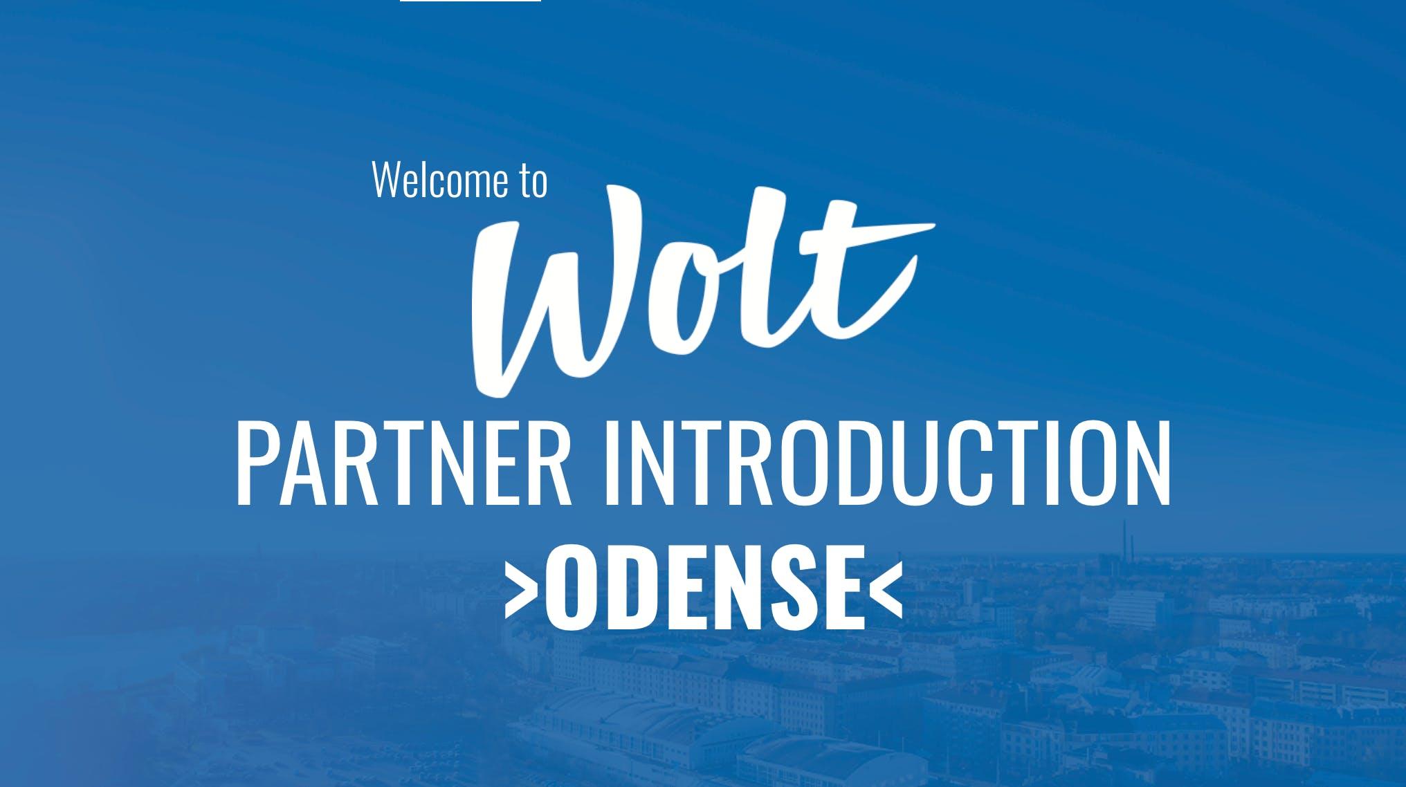 Wolt Partner Intro - Odense