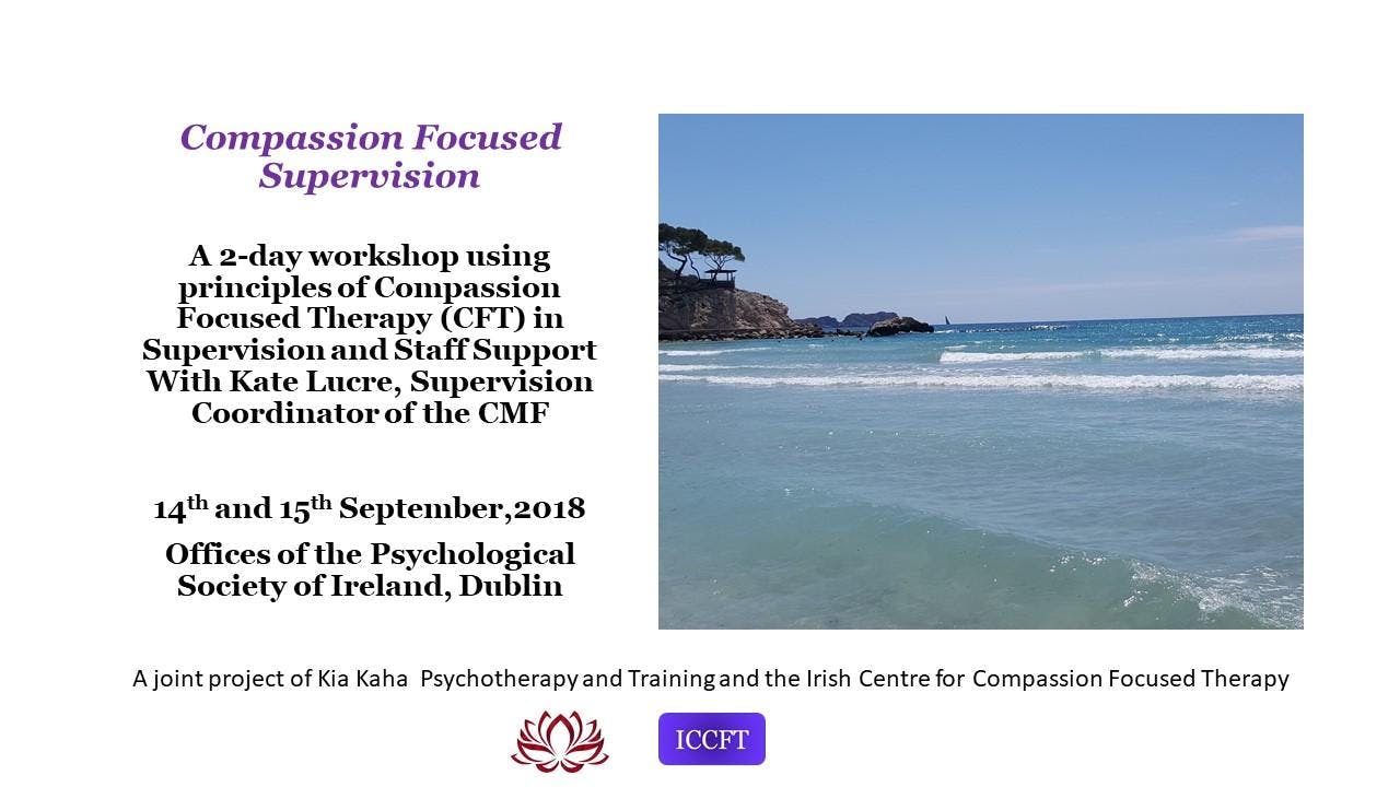 Compassion Focused Supervision with Kate Lucre
