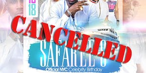 SAFAREE'S NYC CELEBRITY BIRTHDAY ALL WHITE YACHT PARTY...