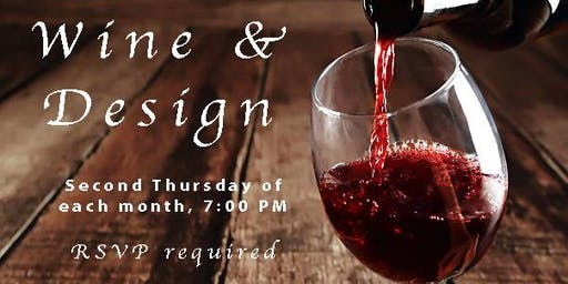 Wine and Design Evening Shopping Experience