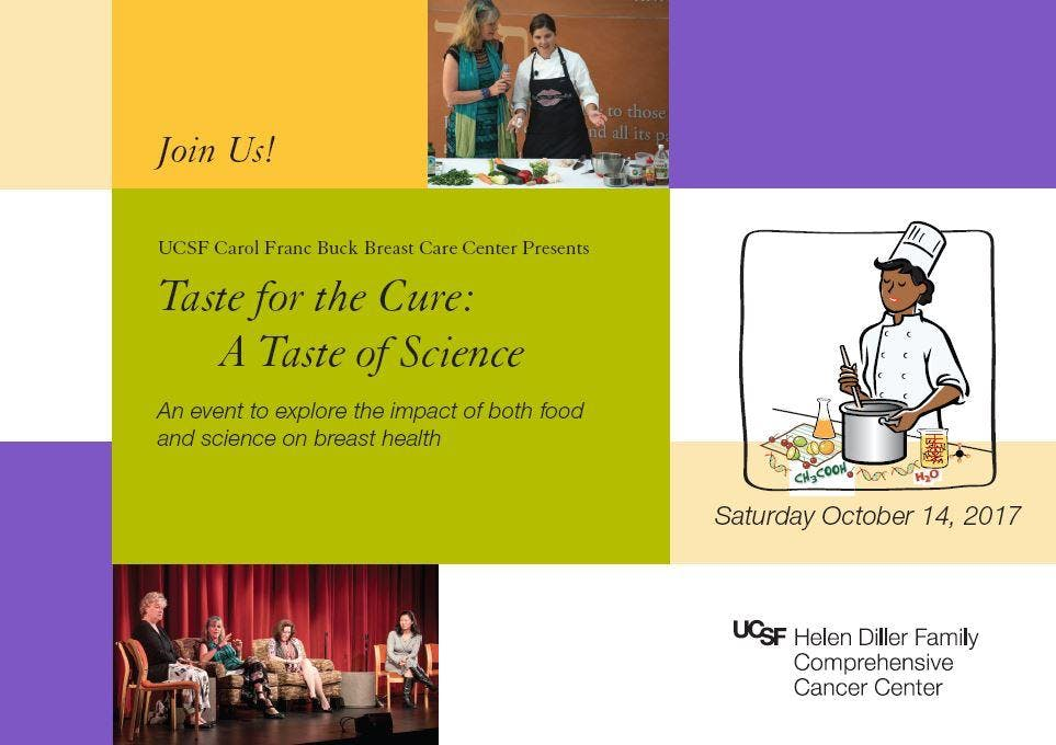 Taste for the Cure 2018: A Taste of Science