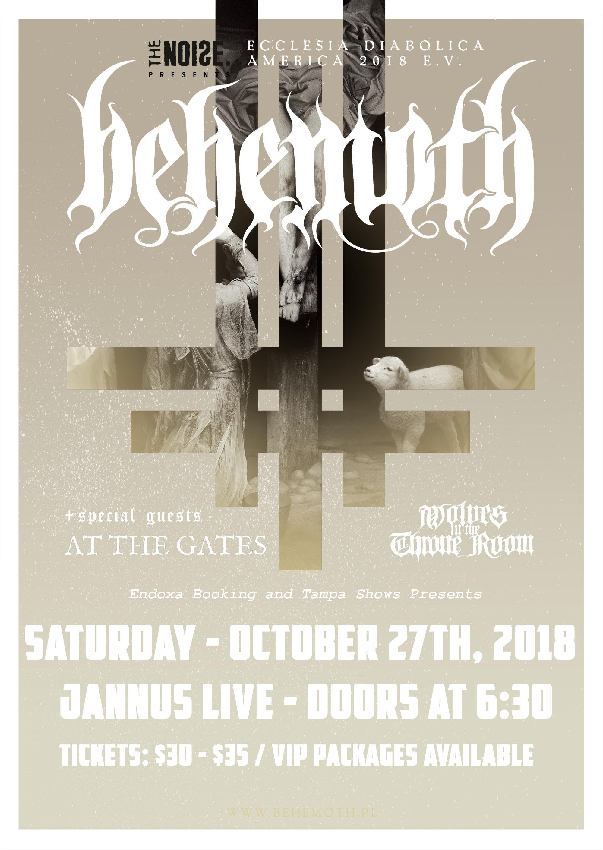 The Noise Presents: Behemoth