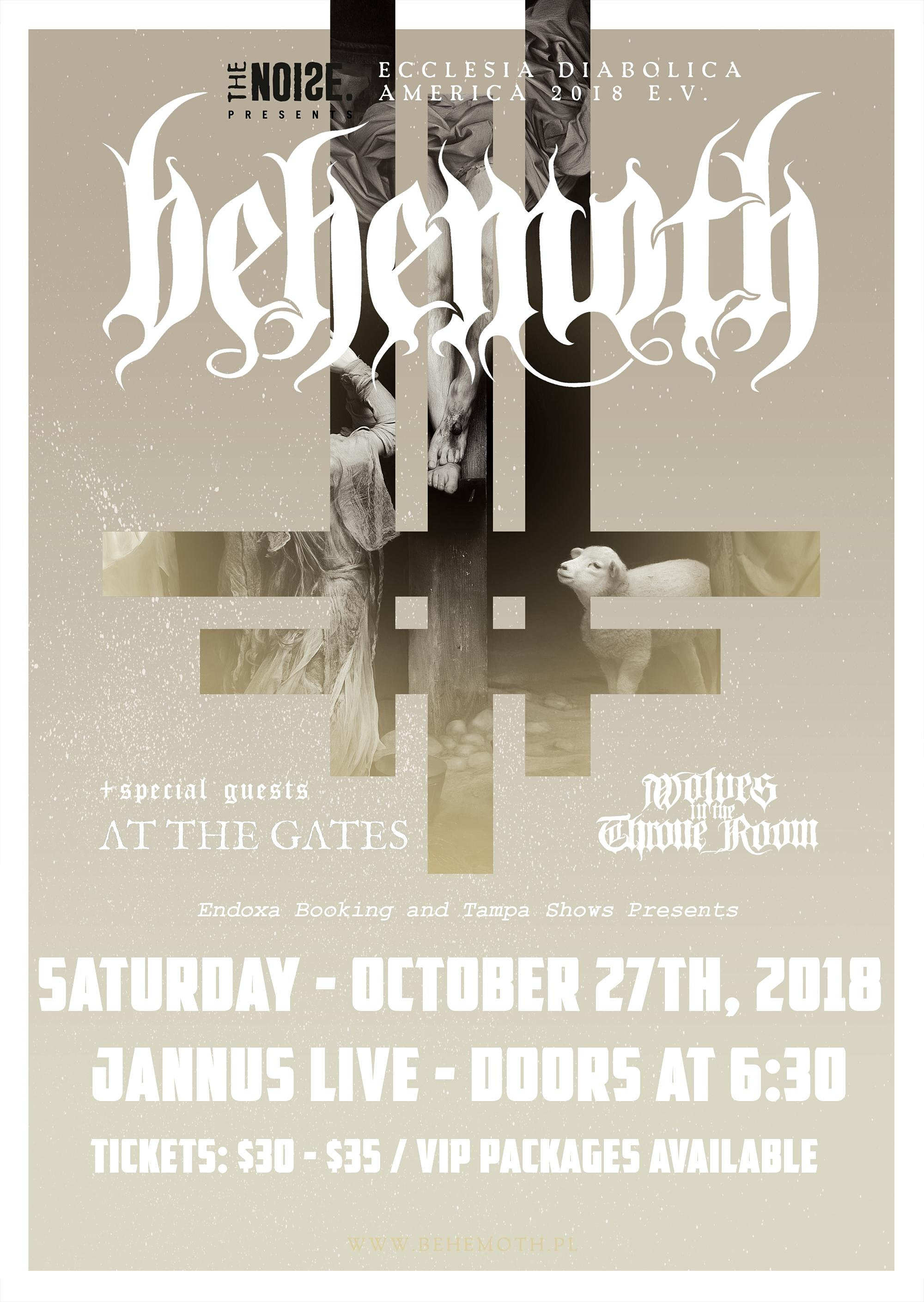 The Noise Presents: Behemoth