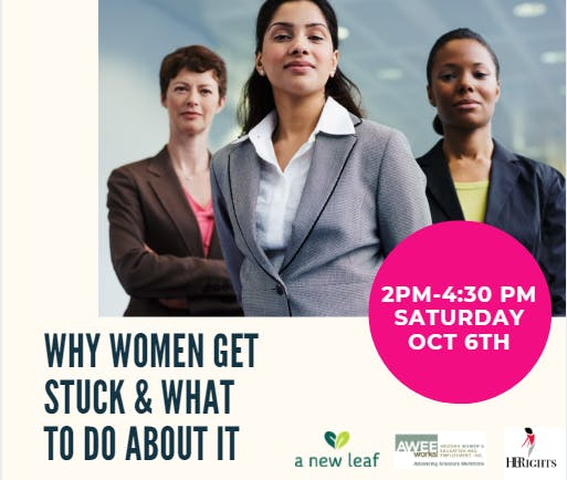 Why Women Get Stuck & What To Do About It